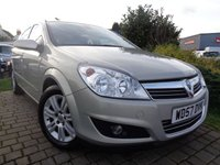 USED 2008 57 VAUXHALL ASTRA 1.8 DESIGN 16V E4 5d AUTO 140 BHP **Ideal Family Automatic Half Leather 12 Months Mot**