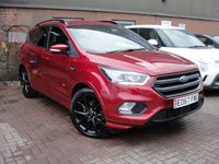 USED 2017 67 FORD KUGA 2.0 ST-LINE X TDCI 5d AUTO 177 BHP ANY PART EXCHANGE WELCOME, COUNTRY WIDE DELIVERY ARRANGED, HUGE SPEC