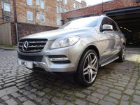 "USED 2012 MERCEDES-BENZ M CLASS 3.0 ML350 BLUETEC SPECIAL EDITION 5d AUTO 260 BHP (22"" Alloys / Navigation)"