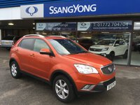 USED 2013 13 SSANGYONG KORANDO 2.0 ES 5d 175 BHP GOT A POOR CREDIT HISTORY * DON'T WORRY * WE CAN HELP * APPLY NOW *