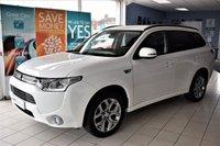 USED 2014 64 MITSUBISHI OUTLANDER 2.0 PHEV GX 3H 5d 4WD AUTO 162 BHP HYBRID-PETROL/ELECTRIC