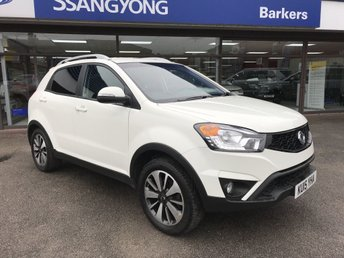 2015 SSANGYONG KORANDO 2.0 LIMITED EDITION 5d 147 BHP £7975.00