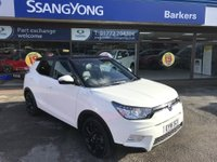 USED 2016 16 SSANGYONG TIVOLI 1.6 ELX 5d 126 BHP GOT A POOR CREDIT HISTORY * DON'T WORRY * WE CAN HELP * APPLY NOW *