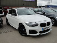 USED 2018 67 BMW 1 SERIES 3.0 M140I SHADOW EDITION 5d AUTO 335 BHP ANY PART EXCHANGE WELCOME, COUNTRY WIDE DELIVERY ARRANGED, HUGE SPEC