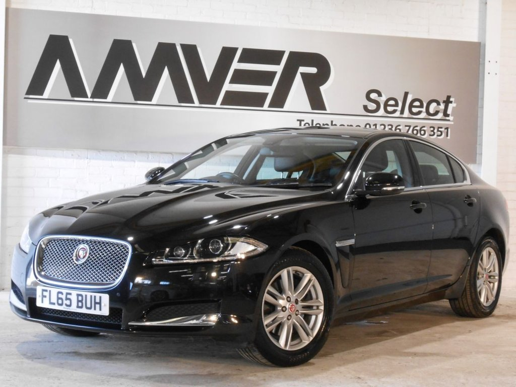 USED 2015 65 JAGUAR XF 2.2 D LUXURY 4d AUTO 163 BHP