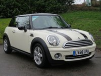 USED 2008 58 MINI HATCH COOPER 1.6 COOPER 3d 118 BHP ONLY 40,000 MILES, STUNNING CONDITION!