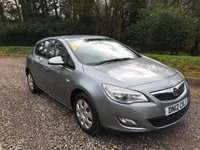 2012 VAUXHALL ASTRA 1.4 EXCLUSIV 5d 98 BHP £3975.00