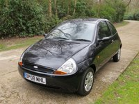 USED 2008 08 FORD KA 1.3 STYLE CLOTH 3d 69 BHP 2 OWNER VERY LOW MILEAGE, NEW MOT**-UK DELIVERY POSSIBLE