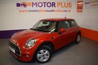 2016 MINI HATCH COOPER 1.5 COOPER 3d 134 BHP £11480.00