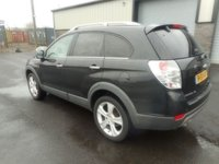 USED 2011 61 CHEVROLET CAPTIVA 2.2 LTZ VCDI 5d AUTO 184 BHP LEATHER SAT NAV