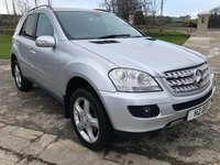 USED 2006 56 MERCEDES-BENZ M CLASS 3.0 ML320 CDI SPORT 5d AUTO 222 BHP
