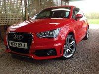 2012 AUDI A1 1.6 TDI S LINE 3d 105 BHP £7995.00