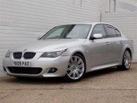 2009 BMW 5 SERIES 3.0 525D M SPORT 4d 195 BHP £5479.00