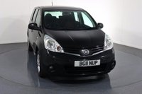 USED 2011 11 NISSAN NOTE 1.4 ACENTA 5d 88 BHP Company and ONE OWNER From New with 6 Stamp SERVICE HISTORY