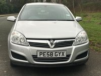 USED 2008 58 VAUXHALL ASTRA 1.4 BREEZE 5d 90 BHP