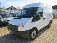 2013 FORD TRANSIT 2.2 TDCI SWB MEDIUM ROOF 330 AWD 4X4 125 BHP AIR CON 1 OWNER FULL MAIN DEALER SERVICE HISTORY 20,838 MILES £12995.00