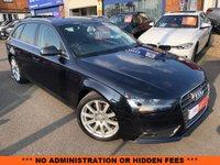 2014 AUDI A4 2.0 AVANT TDI SE TECHNIK 5d AUTO 148 BHP £SOLD