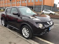 USED 2014 64 NISSAN JUKE 1.5 ACENTA PREMIUM DCI 5d 110 BHP Fun juke with all the toys and economy and low road tax.