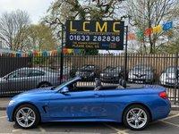 2015 BMW 4 SERIES 3.0 435D XDRIVE M SPORT 2d AUTO 309 BHP £23000.00