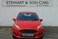 USED 2013 63 FORD FIESTA 1.2 STYLE 3d 59 BHP