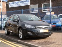 "USED 2012 12 VAUXHALL ASTRA 1.6 SRI 5d FULL VAUXHALL HISTORY ~ LOW MILES ~ CRUISE CONTROL ~ 17"" ALLOYS"
