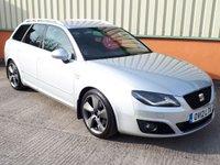 2012 SEAT EXEO 2.0 CR TDI SPORT TECH 5d 168 BHP £SOLD