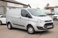 2017 FORD TRANSIT CUSTOM 2.0 270 TREND L/R PANEL VAN 104 BHP £13475.00