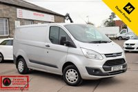 USED 2017 17 FORD TRANSIT CUSTOM 2.0 270 TREND L/R PANEL VAN 104 BHP