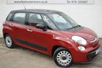2014 FIAT 500L 1.2 MULTIJET EASY 5d 85 BHP FREE SIX MONTH WARRANTY £5480.00