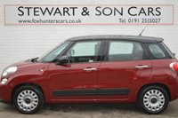 USED 2014 14 FIAT 500L 1.2 MULTIJET EASY 5d 85 BHP FREE SIX MONTH WARRANTY CHEAP TAX LOW INSURANCE EXCELLENT MPG