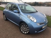 USED 2008 08 NISSAN MICRA 1.2 TEKNA 5d 80 BHP **CD RADIO**
