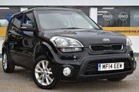 2014 KIA SOUL 1.6 2 CRDI 5d AUTO 126 BHP £5299.00