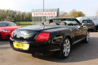 USED 2007 W BENTLEY CONTINENTAL 6.0 GTC 2d AUTO 550 BHP