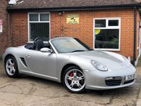 USED 2006 PORSCHE BOXSTER 3.2 24V S 2d 280 BHP STUNNING CONDITION!