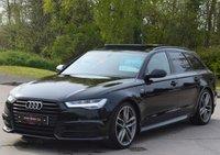 USED 2016 16 AUDI A6 AVANT 2.0 AVANT TDI ULTRA BLACK EDITION 5d AUTO 190 BHP