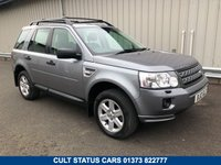 USED 2012 12 LAND ROVER FREELANDER 2.2 TD4 GS 5d AUTO 150 BHP TOW BAR, ROOF BARS, FULL HISTORY