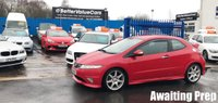 USED 2008 58 HONDA CIVIC 2.0 I-VTEC TYPE-R GT 3d 198 BHP All our Cars are Serviced with a Brand New MOT & Valeted and Inspected to ensure they are ready before handover.