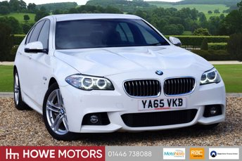 2016 BMW 5 SERIES 3.0 530D M SPORT 4d AUTO 255 BHP NAVIGATION SURROUND CAMERA  £18990.00