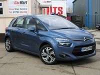 USED 2013 63 CITROEN C4 PICASSO 1.6 E-HDI AIRDREAM EXCLUSIVE 5d 113 BHP SAT NAV | BLUETOOTH | DAB | PARKING SENSORS