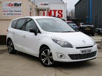 USED 2011 61 RENAULT SCENIC 1.5 DYNAMIQUE TOMTOM BOSE PACK DCI 5d 110 BHP SAT NAV - B/TOOTH - P/SENSORS
