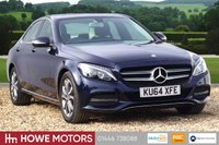 USED 2014 64 MERCEDES-BENZ C CLASS 2.1 C220 BLUETEC SPORT 4d AUTO 170 BHP NAVIGATION HEATED LEATHER