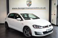 "USED 2014 14 VOLKSWAGEN GOLF 2.0 GTI 5DR 218 BHP full service history *NO ADMIN FEES* FINISHED IN STUNNING PURE WHITE WITH SPORT UPHOLSTERY + FULL SERVICE HISTORY + BLUETOOTH + DAB RADIO + CRUISE CONTROL + HEATED ELECTRIC FOLDING MIRRORS + AIR CON + AUXILIARY PORT + FRONT/REAR PARKING SENSORS + 18"" ALLOY WHEELS"