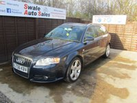 USED 2006 06 AUDI A4 2.0 TDI S LINE TDV 5d 140 BHP FINANCE AVAILABLE FROM £32 PER WEEK OVER TWO YEARS - SEE FINANCE LINK FOR DETAILS