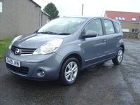 USED 2009 09 NISSAN NOTE 1.4 ACENTA 5d 88 BHP /// FACELIFT MODEL  ///