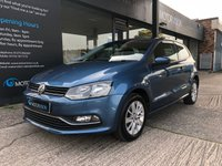USED 2015 15 VOLKSWAGEN POLO 1.2 SE TSI 3d 89 BHP £20 tax, 1 owner, 2 keys