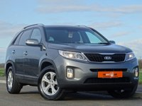 USED 2014 14 KIA SORENTO 2.2 CRDI KX-2 5d 194 BHP REVERSE CAMERA + CRUISE CONTROL + HEATED FRONT SEATS + FULL BLACK LEATHER INTERIOR