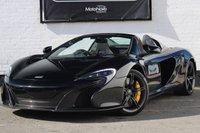 USED 2014 14 MCLAREN 650S McLaren 65630S 3.8 V8 Spider SSG 2dr