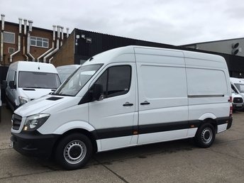 2015 MERCEDES-BENZ SPRINTER 2.1 313CDI MWB HIGH ROOF 130BHP. F/S/H. 1 OWNER. FINANCE. £9740.00