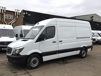 2017 MERCEDES-BENZ SPRINTER 2.1 314CDI MWB HIGH ROOF 140BHP EURO 6. ADBLUE. ULEZ. PX £16490.00