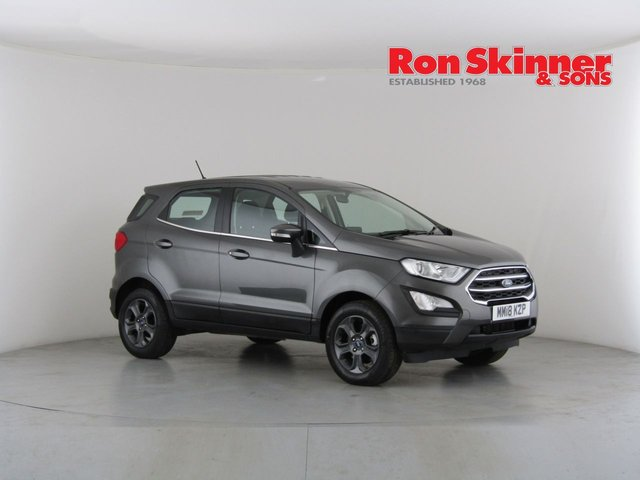 View our 2018 18 FORD ECOSPORT 1.0 ZETEC 5d 124 BHP